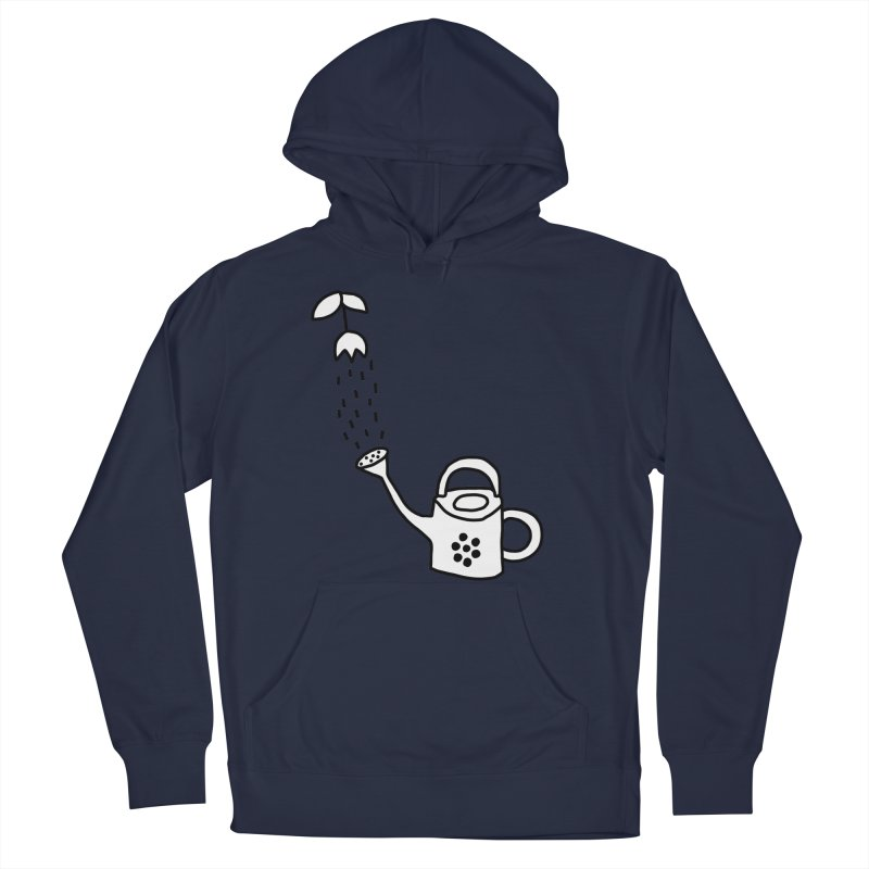 yes we WATERING can! Men's French Terry Pullover Hoody by dorobot