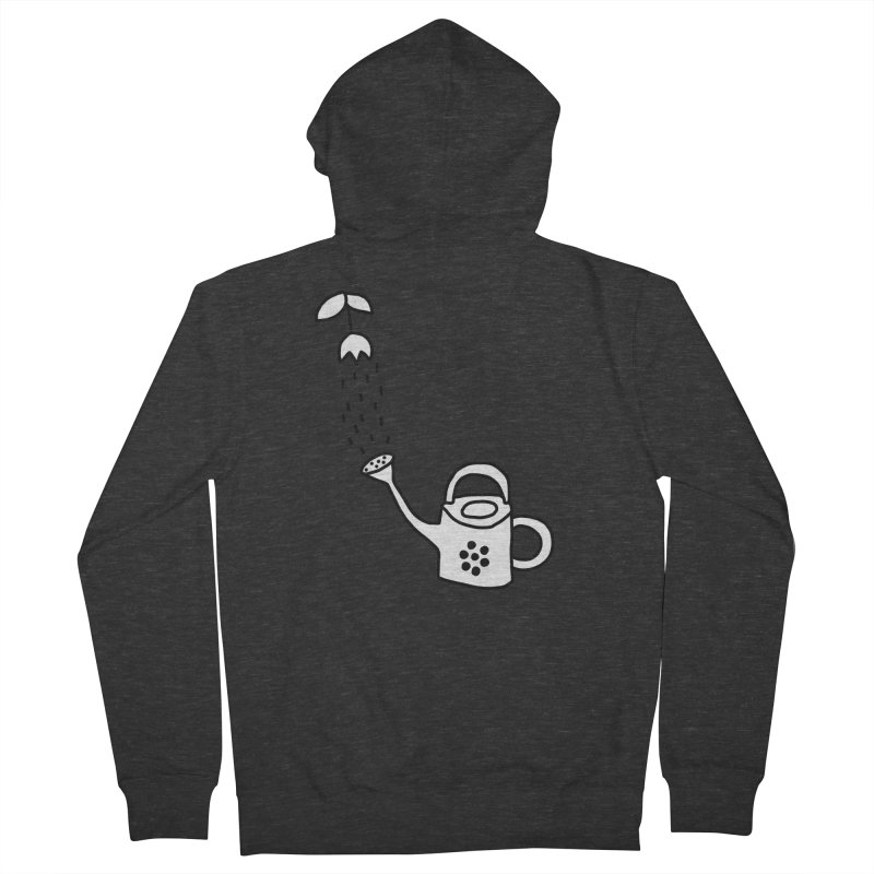 yes we WATERING can! Women's French Terry Zip-Up Hoody by dorobot