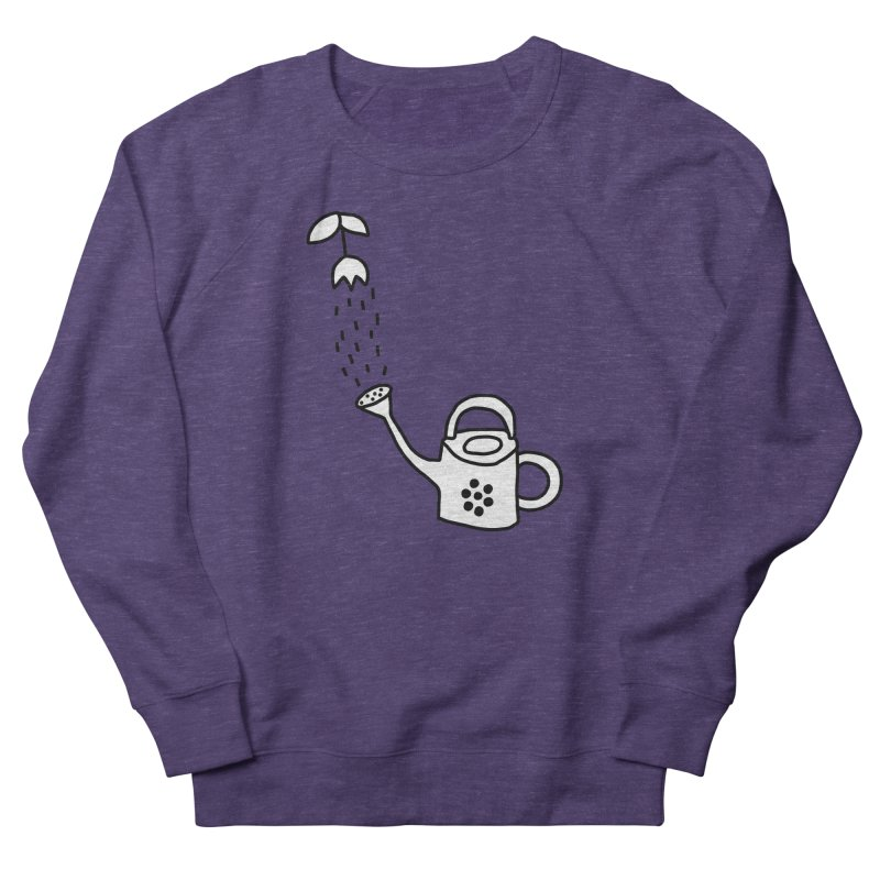 yes we WATERING can! Women's French Terry Sweatshirt by dorobot