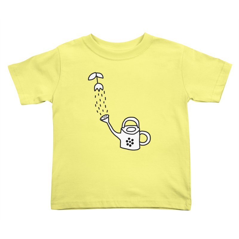 yes we WATERING can! Kids Toddler T-Shirt by dorobot