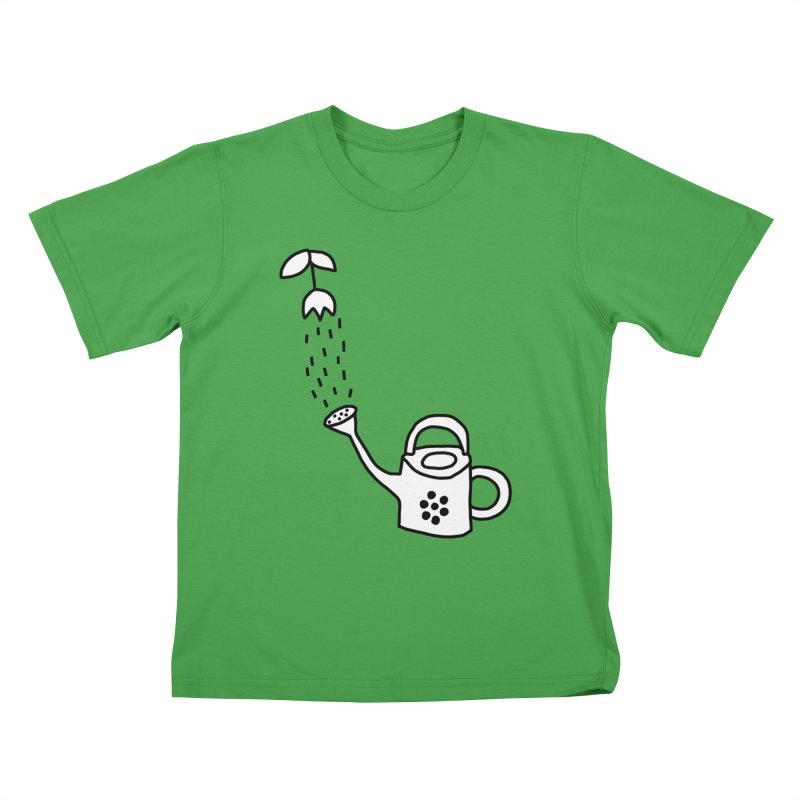 yes we WATERING can! Kids T-Shirt by dorobot