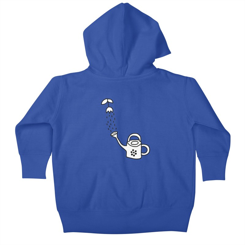 yes we WATERING can! Kids Baby Zip-Up Hoody by dorobot