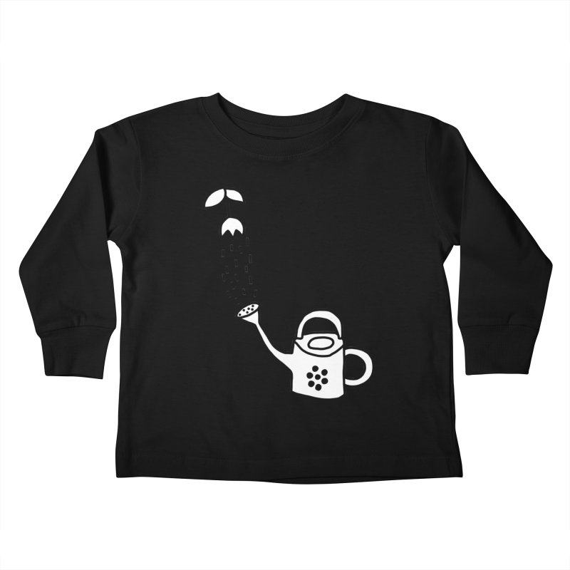 yes we WATERING can! Kids Toddler Longsleeve T-Shirt by dorobot