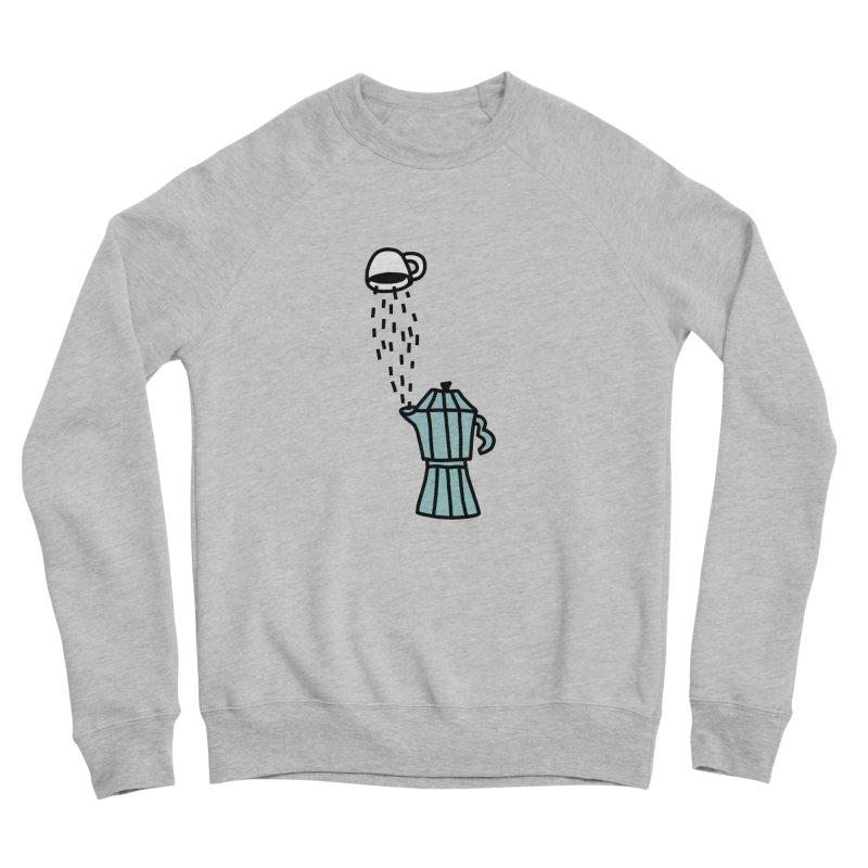 espresso STRESSO Men's Sponge Fleece Sweatshirt by dorobot