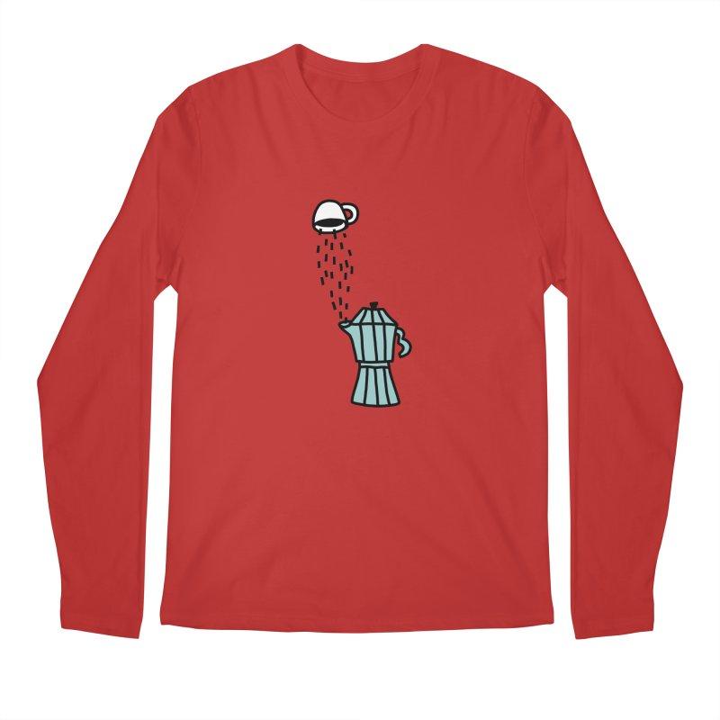 espresso STRESSO Men's Regular Longsleeve T-Shirt by dorobot