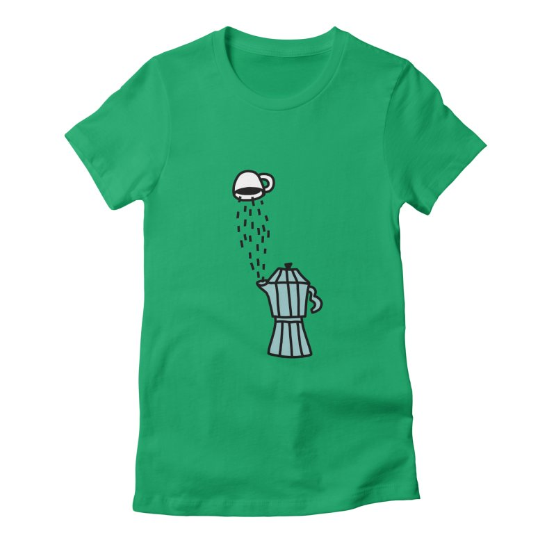 espresso STRESSO Women's Fitted T-Shirt by dorobot