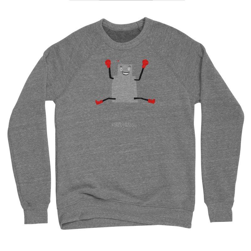 ROBBY McBLOBSMASHER Men's Sponge Fleece Sweatshirt by dorobot