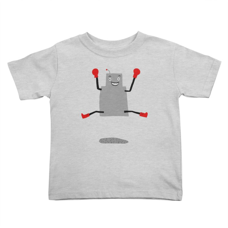 ROBBY McBLOBSMASHER Kids Toddler T-Shirt by dorobot