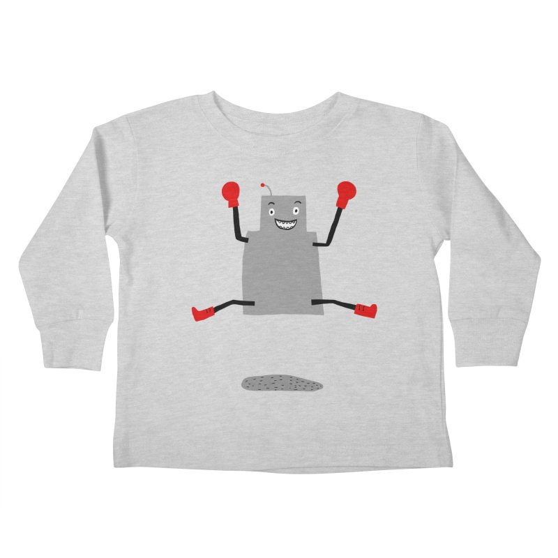 ROBBY McBLOBSMASHER Kids Toddler Longsleeve T-Shirt by dorobot