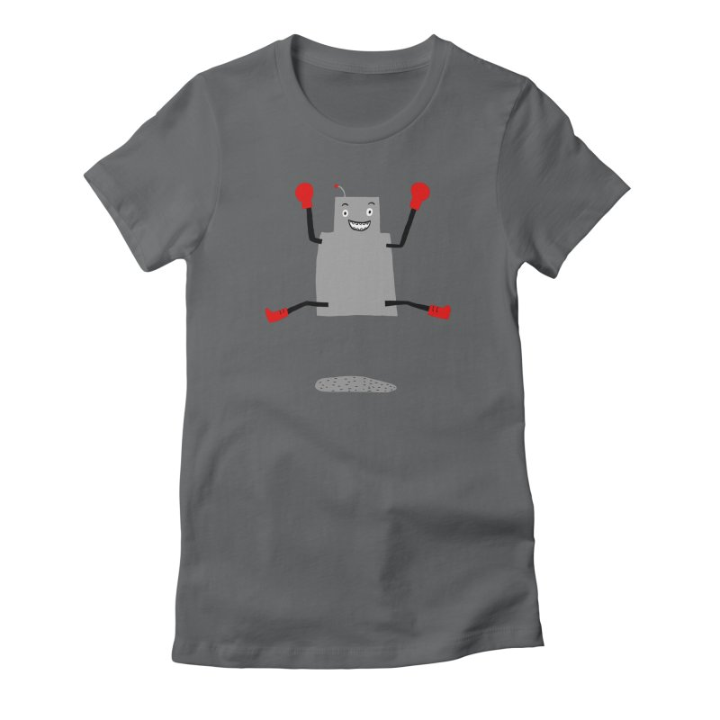 ROBBY McBLOBSMASHER Women's Fitted T-Shirt by dorobot