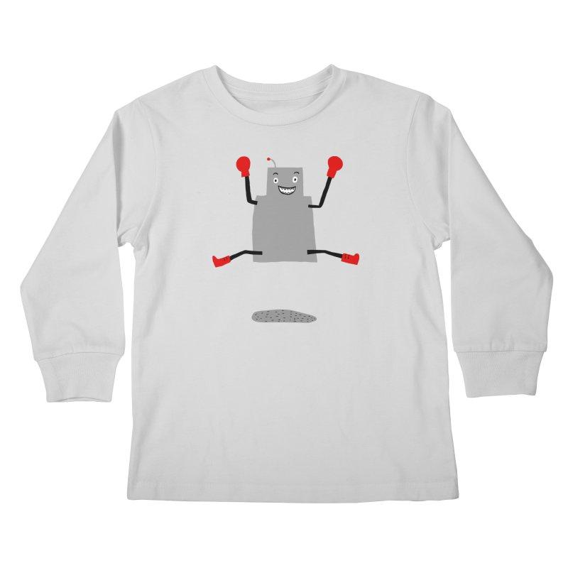 ROBBY McBLOBSMASHER Kids Longsleeve T-Shirt by dorobot