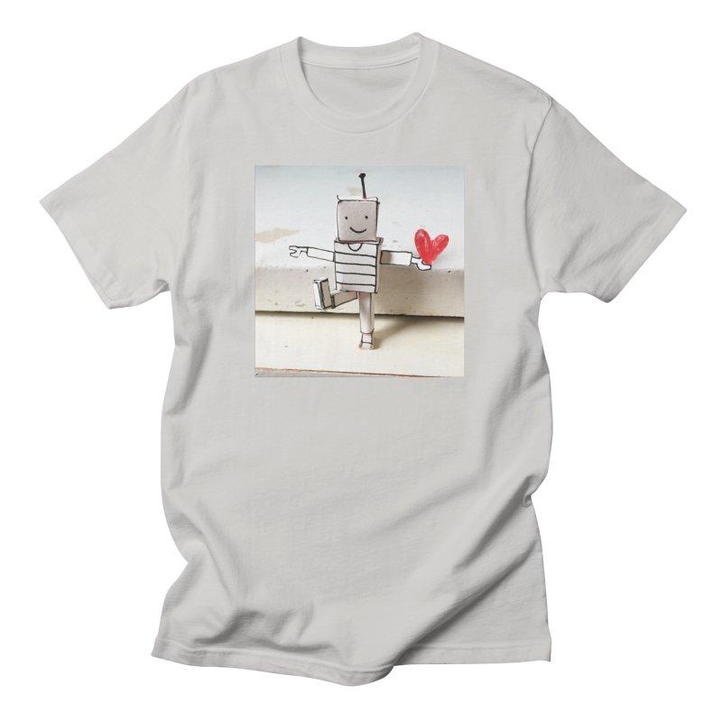 Very low tech robot Men's T-Shirt by dorobot