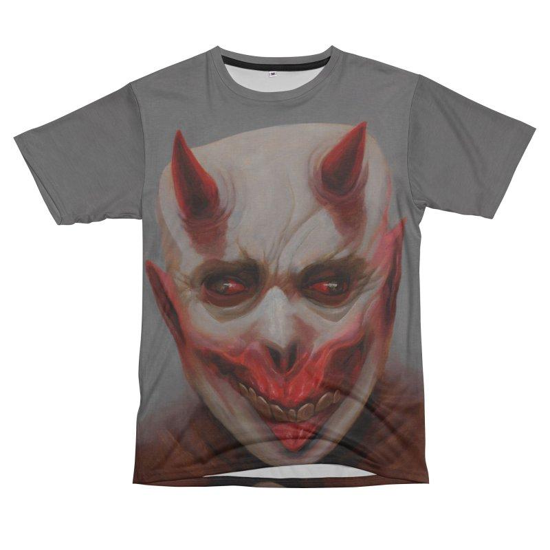 Portrait of a Devil Men's Cut & Sew by dosdiablos's Artist Shop
