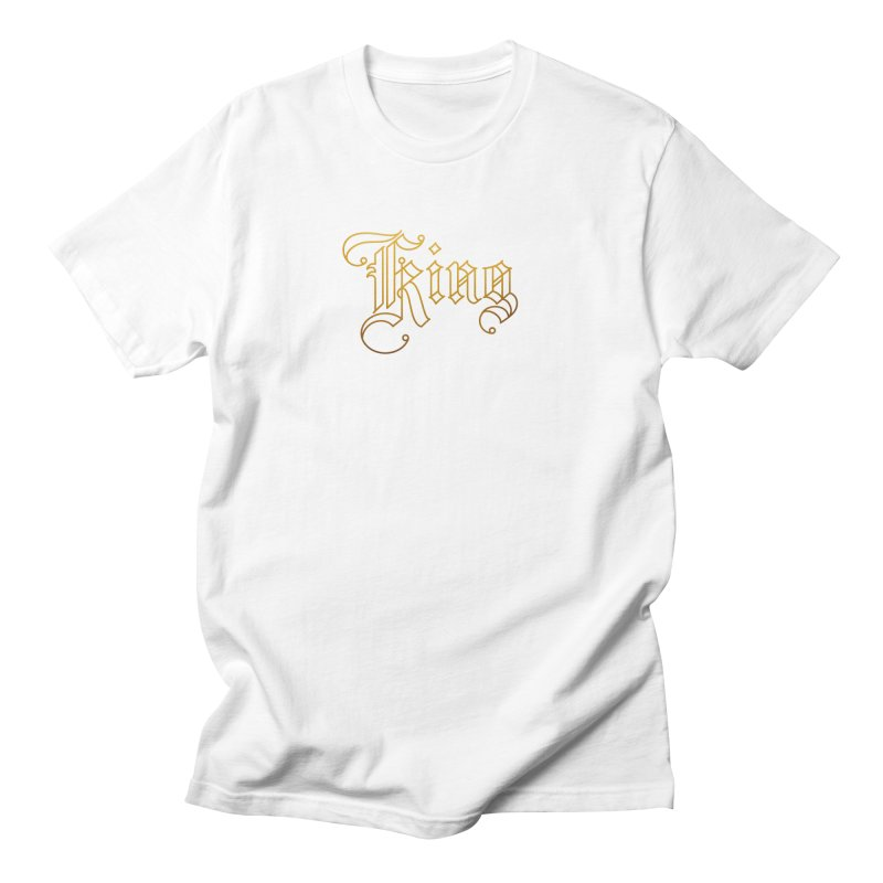 Golden King Men's T-Shirt by dos' Shop