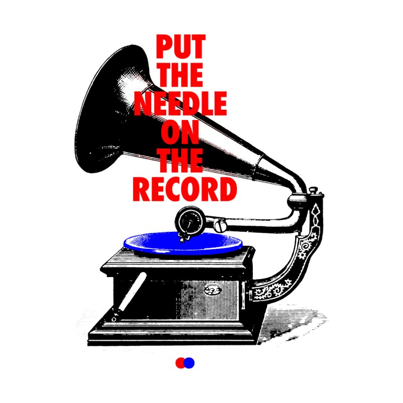 Needle on the record by dotdot – Quotes on shirts