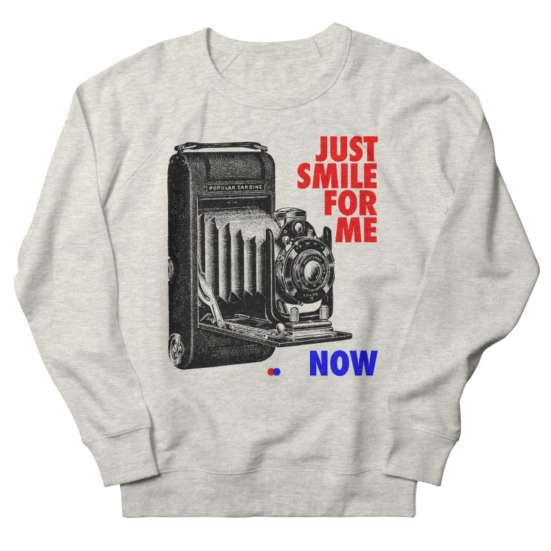 Just smile Women's Sweatshirt by dotdot – Quotes on shirts