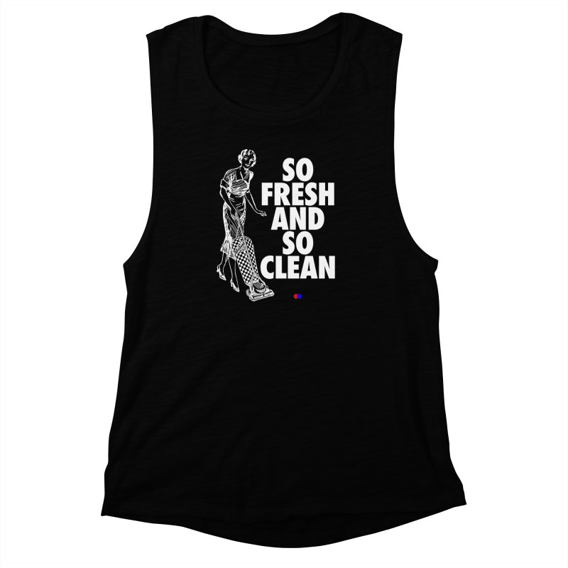 So fresh Women's Muscle Tank by dotdot – Quotes on shirts