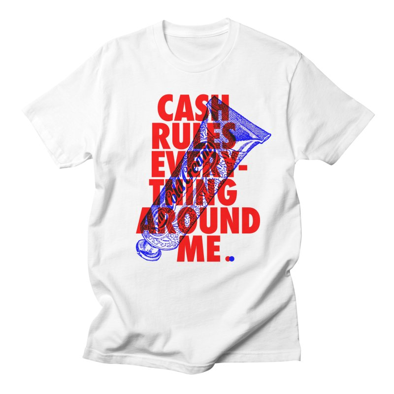C.R.E.A.M. Men's T-shirt by dotdot – Quotes on shirts
