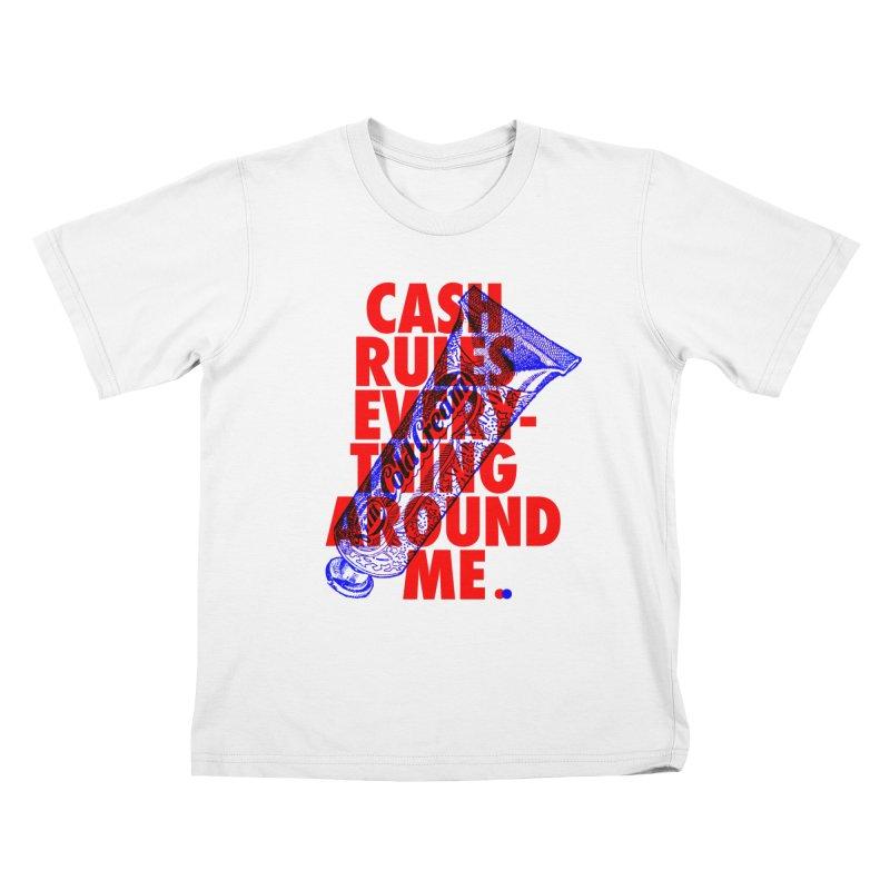C.R.E.A.M. Kids T-shirt by dotdot – Quotes on shirts