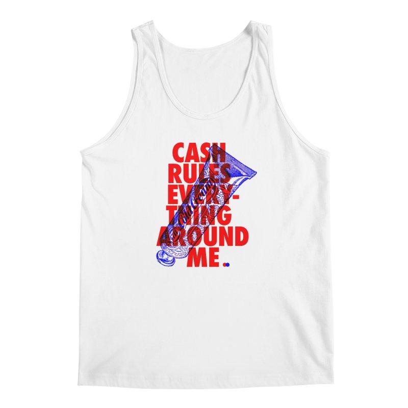 C.R.E.A.M. Men's Tank by dotdot – Quotes on shirts
