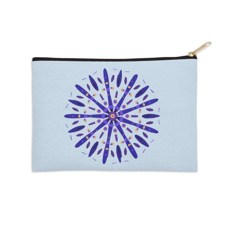 Purple Star Accessories Zip Pouch by dotdotdottshirts's Artist Shop