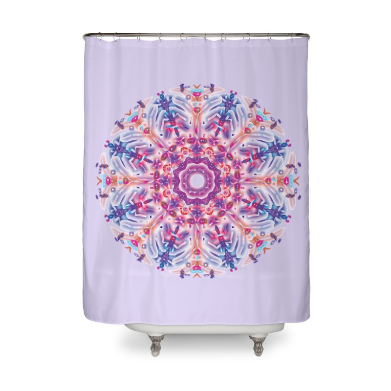 Snowflake Rainbow Home Shower Curtain by dotdotdottshirts's and textiles Artist Shop