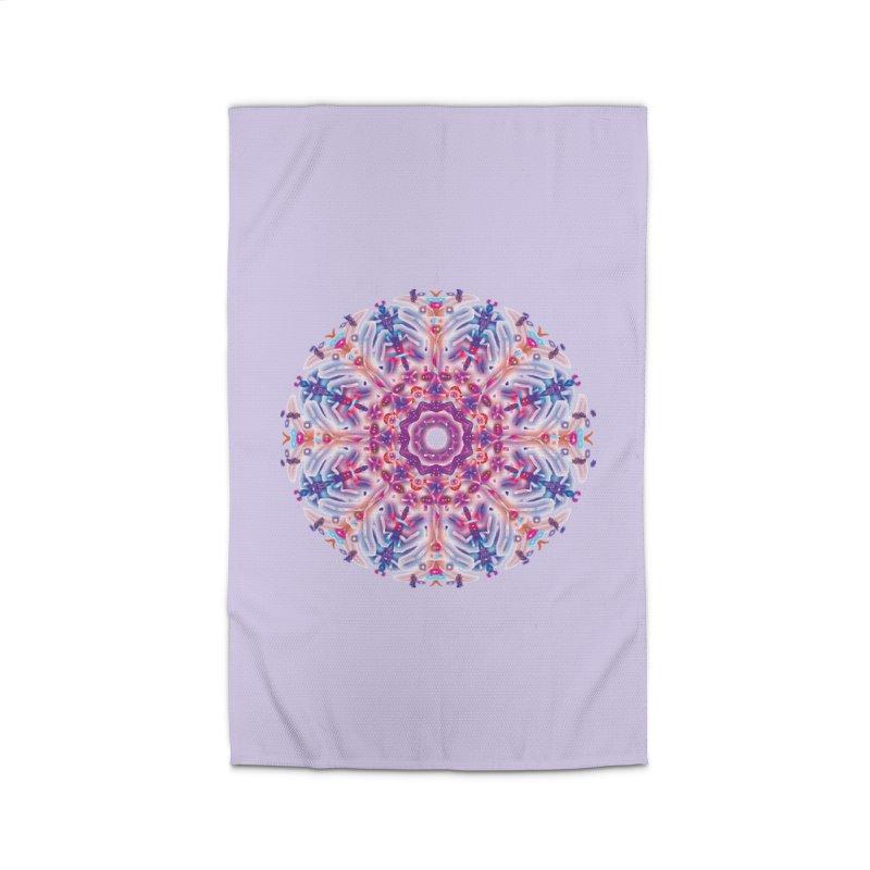 Snowflake Rainbow Home Rug by dotdotdottshirts's and textiles Artist Shop