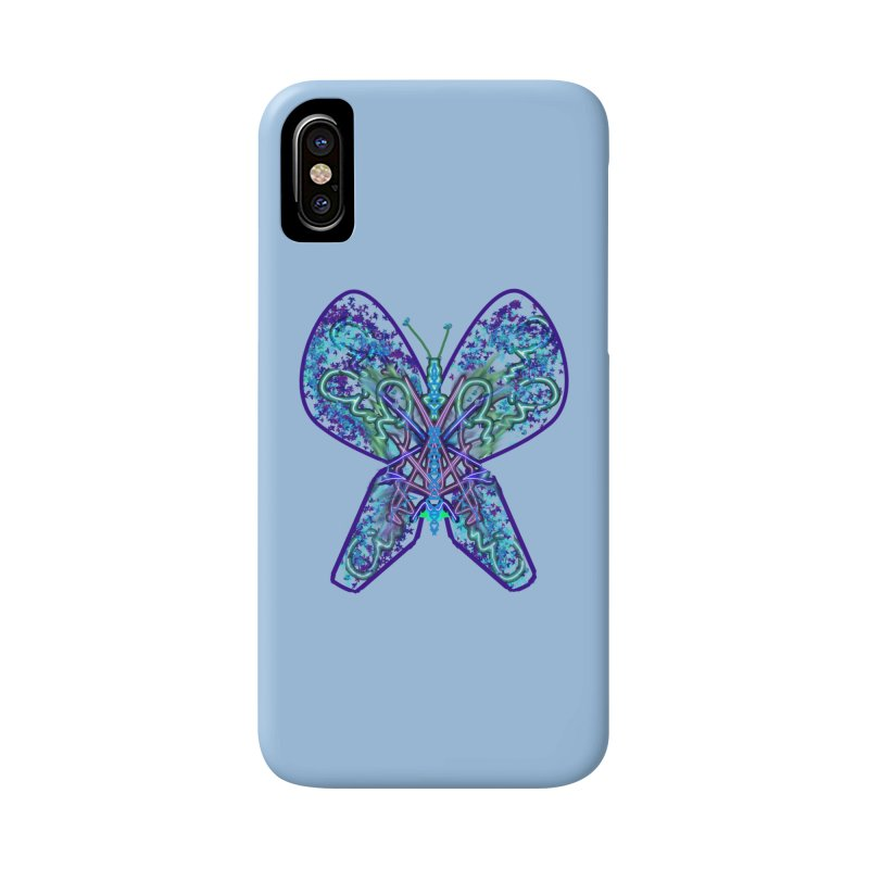 Electric Butterfly Accessories Phone Case by dotdotdottshirts's Artist Shop