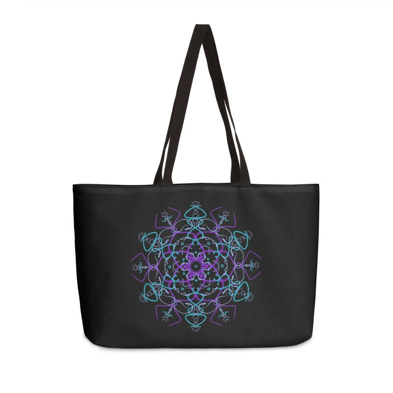 21st Century Flower Child Accessories Weekender Bag Bag by dotdotdottshirts's and textiles Artist Shop