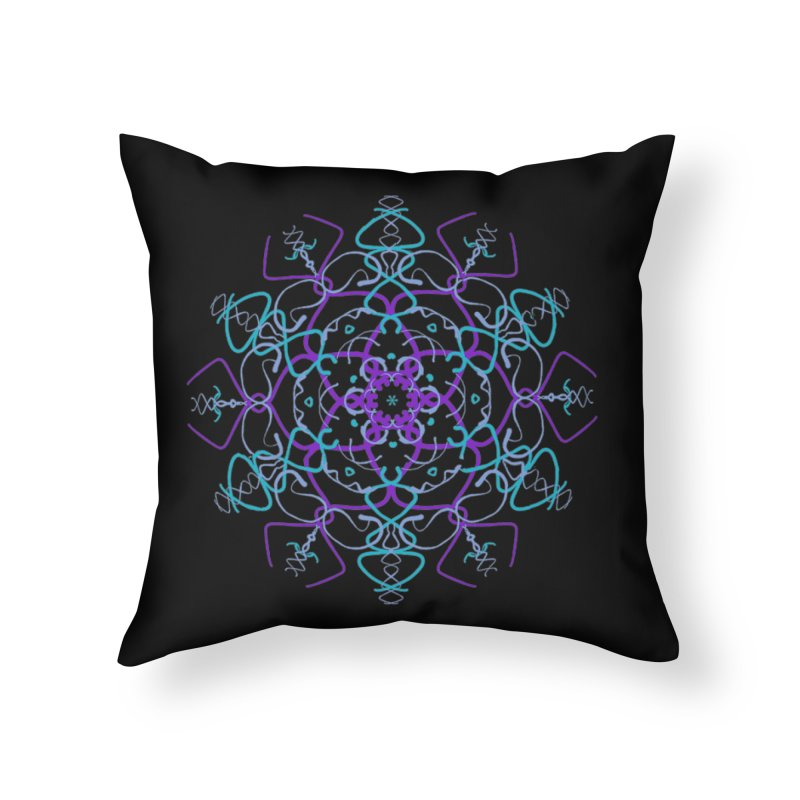 21st Century Flower Child Home Throw Pillow by dotdotdottshirts's and textiles Artist Shop