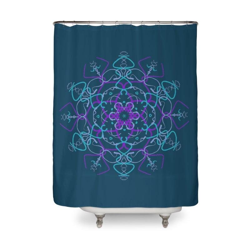 21st Century Flower Power Home Shower Curtain by dotdotdottshirts's Artist Shop