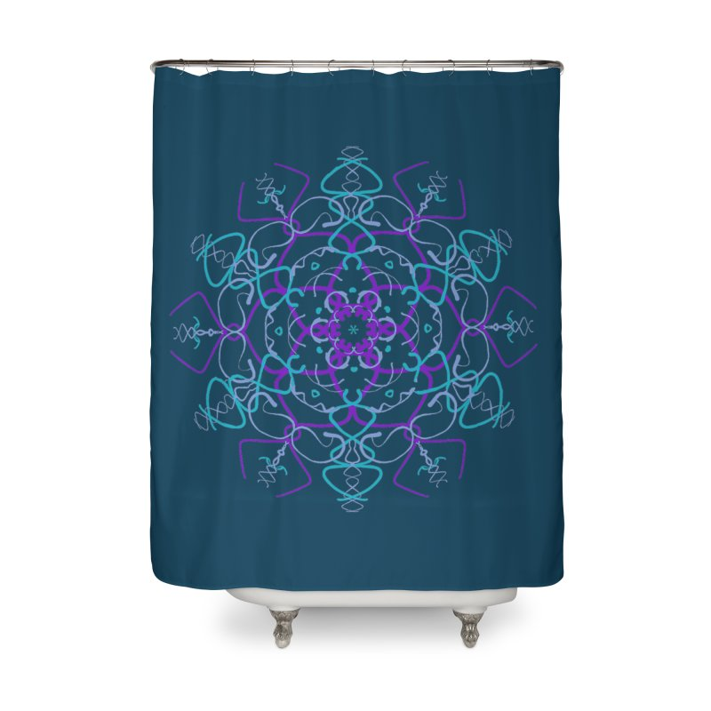 21st Century Flower Power Home Shower Curtain by dotdotdottshirts's and textiles Artist Shop
