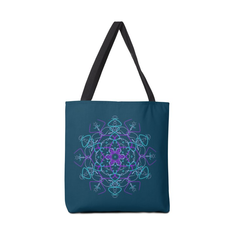 21st Century Flower Power Accessories Bag by dotdotdottshirts's and textiles Artist Shop