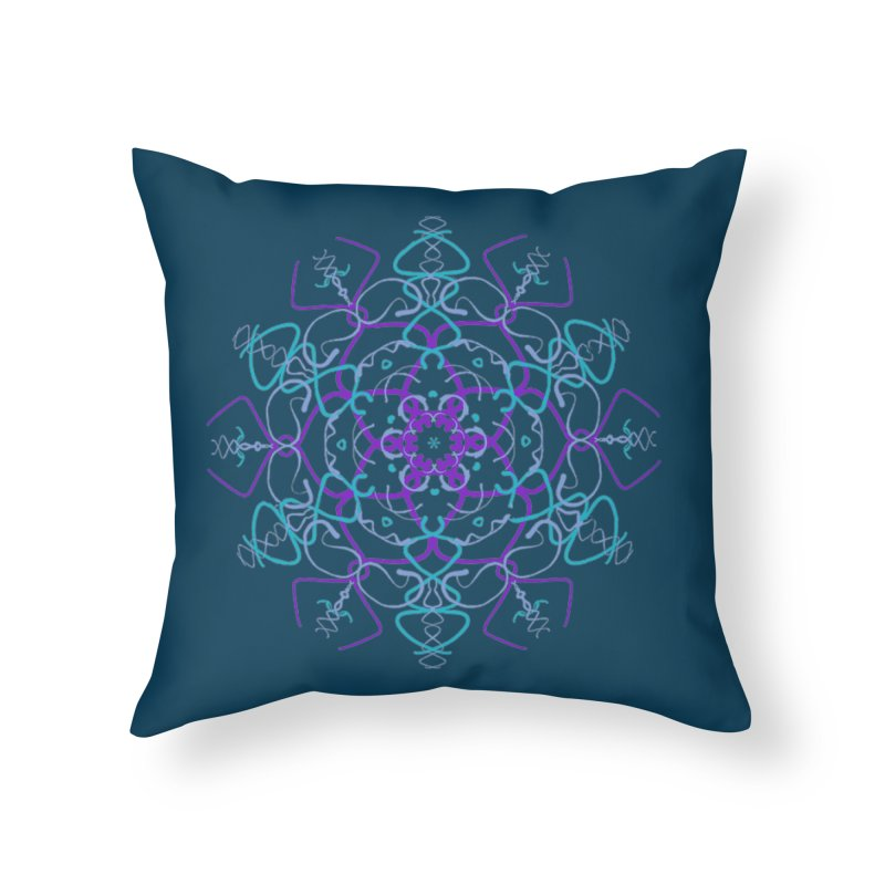 21st Century Flower Power Home Throw Pillow by dotdotdottshirts's and textiles Artist Shop