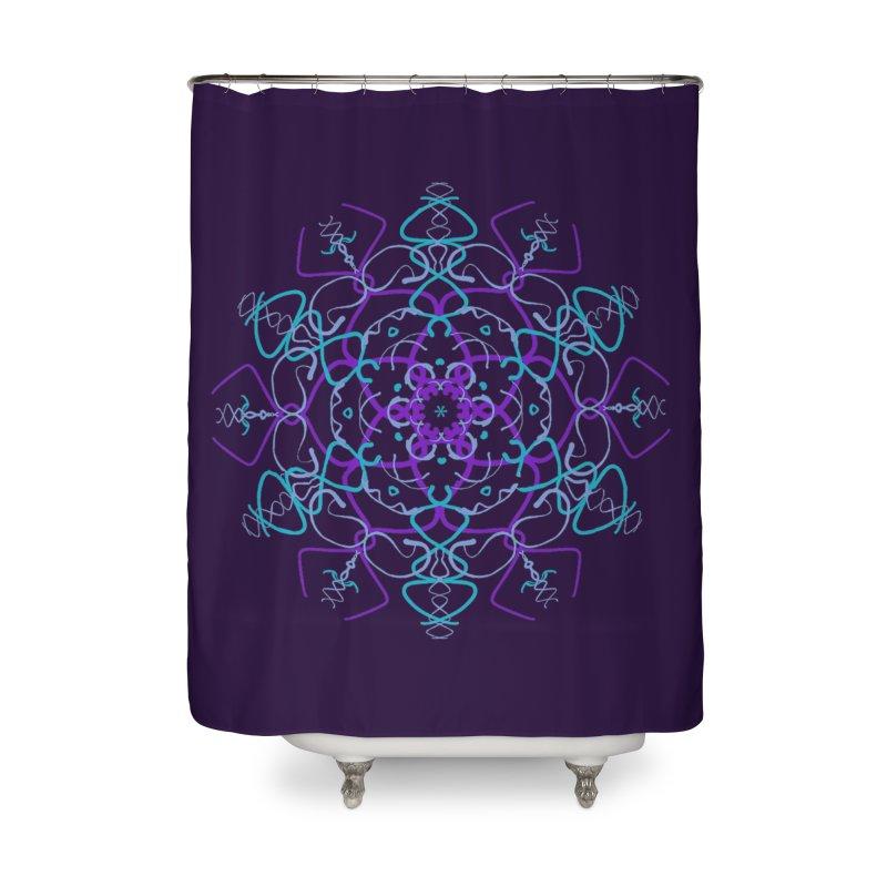 21st Century Sixtys Flower Home Shower Curtain by dotdotdottshirts's Artist Shop