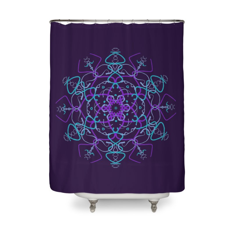 21st Century Sixtys Flower Home Shower Curtain by dotdotdottshirts's and textiles Artist Shop