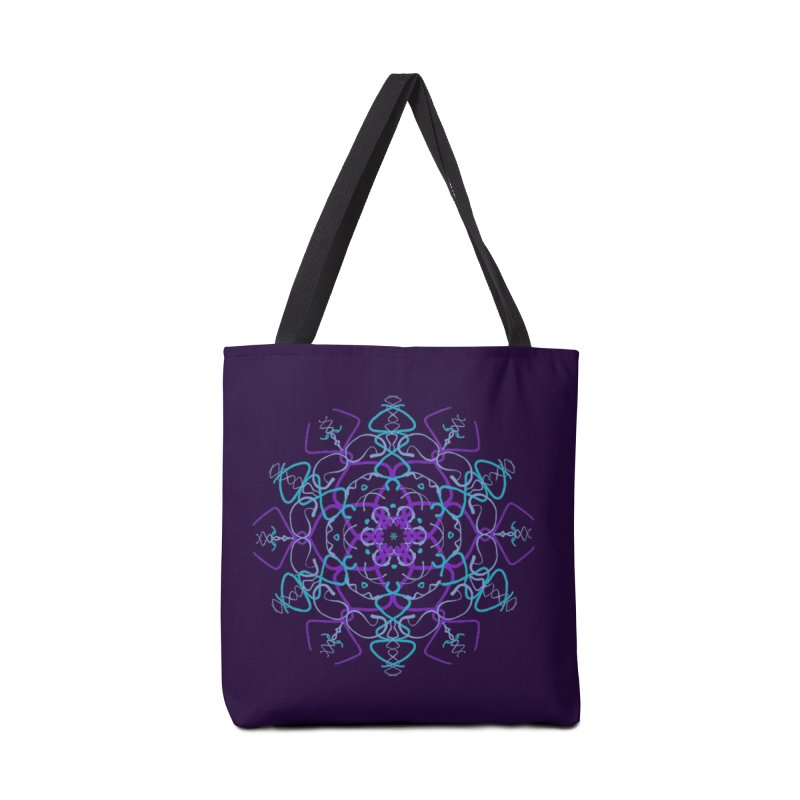 21st Century Sixtys Flower Accessories Tote Bag Bag by dotdotdottshirts's and textiles Artist Shop