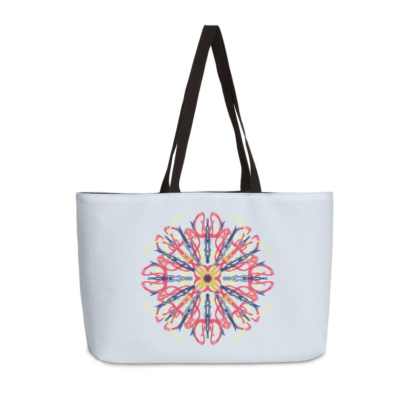 Morning Glory Starburst Accessories Weekender Bag Bag by dotdotdottshirts's and textiles Artist Shop