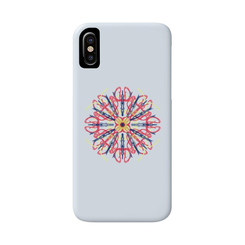 Morning Glory Starburst Accessories Phone Case by dotdotdottshirts's and textiles Artist Shop