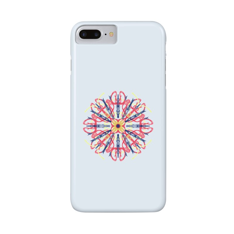 Morning Glory Starburst Accessories Phone Case by dotdotdottshirts's Artist Shop