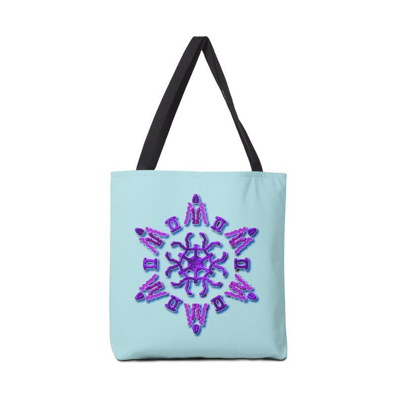 Purple Time Accessories Bag by dotdotdottshirts's Artist Shop