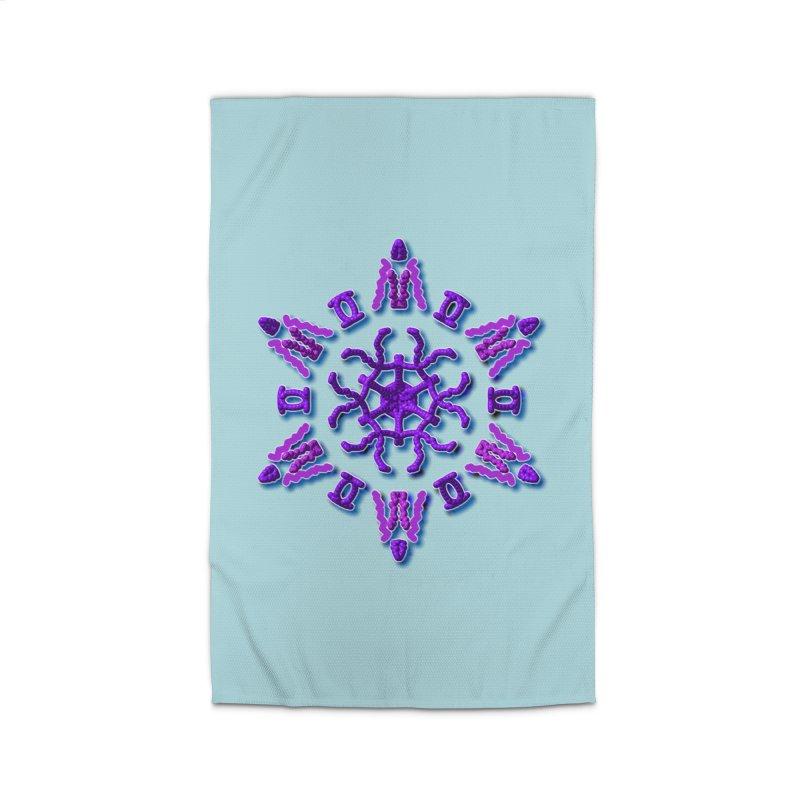 Purple Time Home Rug by dotdotdottshirts's Artist Shop