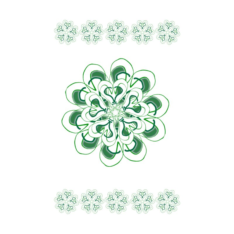 Irish Floral by dotdotdottshirts's and textiles Artist Shop