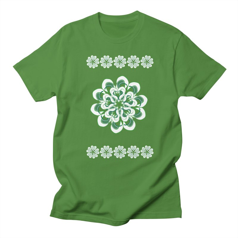 Irish Floral Women's Regular Unisex T-Shirt by dotdotdottshirts's and textiles Artist Shop