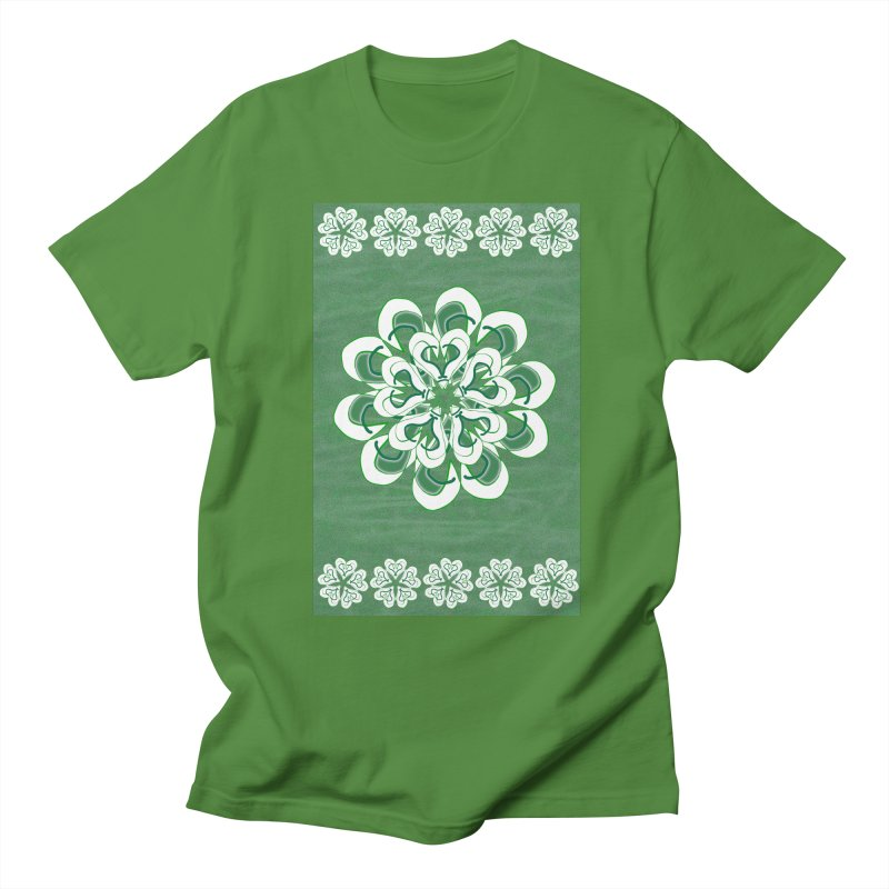 Green Irish Floral   by dotdotdottshirts's Artist Shop