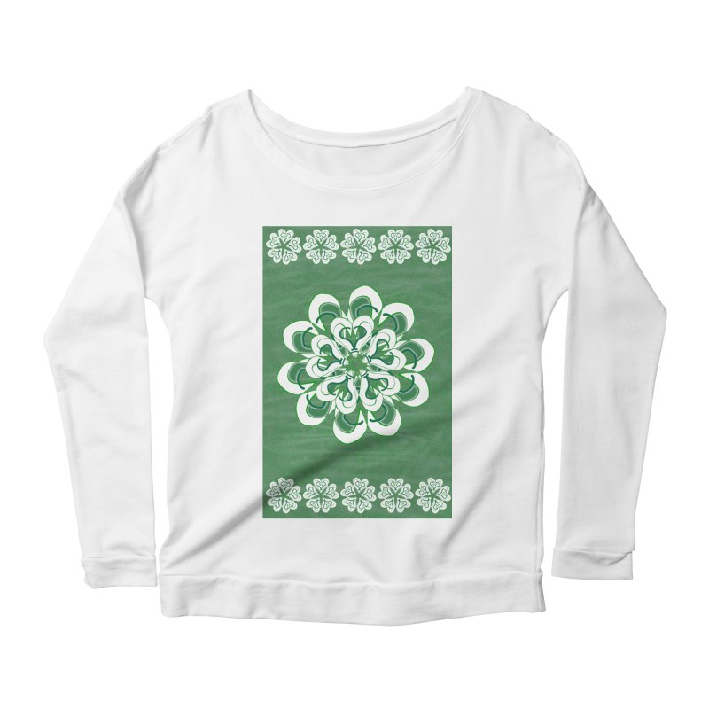 Green Irish Floral   by dotdotdottshirts's Artist Shop