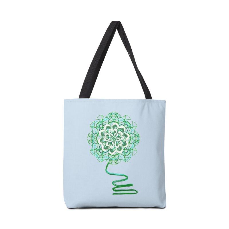 Electric Irish Floral Accessories Bag by dotdotdottshirts's Artist Shop