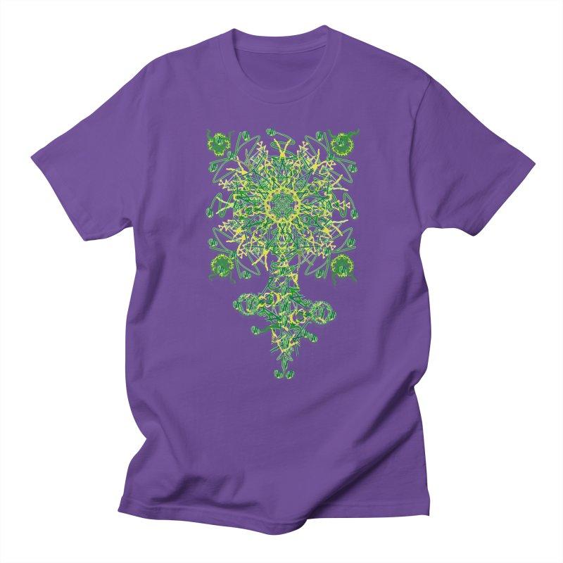 Electric Clover Women's Unisex T-Shirt by dotdotdottshirts's Artist Shop