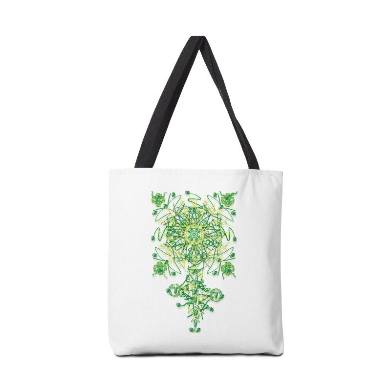 Electric Clover Accessories Bag by dotdotdottshirts's Artist Shop