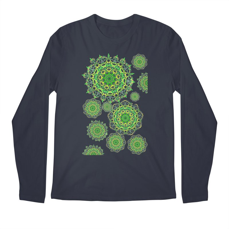 Irish Snowflakes Men's Longsleeve T-Shirt by dotdotdottshirts's Artist Shop